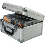 AluMinium CD flight Case, 40 CDs by Citronic, Part Number 127.064UK