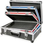 3 in 1 Case set, Red, Blue and Black by Citronic, Part Number 127.092UK
