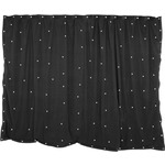 1 x 2m Black Star Cloth with 40 White LEDs by QTX, Part Number 151.170UK