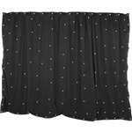 3 x 2m Black star cloth with 120 White LEDs by QTX, Part Number 151.174UK
