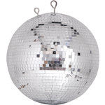 Professional mirror ball 10mm x 10mm tiles - 30cm by QTX, Part Number 151.412UK