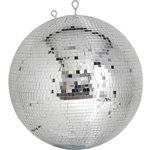 Professional mirror ball 10mm x 10mm tiles - 40cm by QTX, Part Number 151.413UK