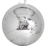 Professional mirror ball 10mm x 10mm tiles - 50cm by QTX, Part Number 151.414UK