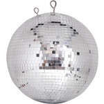 Professional mirror ball 10mm x 10mm tiles - 100cm by QTX, Part Number 151.416UK