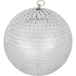 Mirrorball, plain glass, 30cm by QTX, Part Number 151.585UK