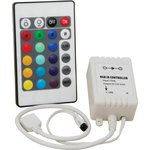 RGB Controller for LED strips With IR remote control by lyyt, Part Number 153.741UK