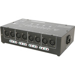 DMX-D8 - 8 Way DMX booster/distributor by QTX, Part Number 154.102UK