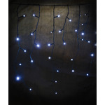 240 LED Indoor Icicle String Lights with Timer Control CW by lyyt, Part Number 155.417UK