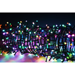 100 LED String Lights with Timer Control RGBY by lyyt, Part Number 155.581UK