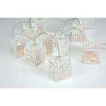 10 LED Wooden Birdcage Deco Light by lyyt, Part Number 155.598UK