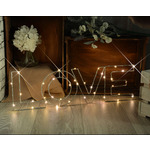 LED Wireframe LOVE Motif Small by lyyt, Part Number 155.661UK