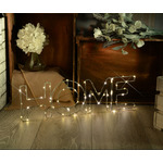 LED Wireframe HOME Motif Small by lyyt, Part Number 155.662UK