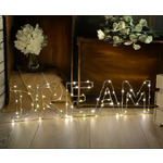 LED Wireframe DREAM Motif Small by lyyt, Part Number 155.663UK