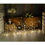 Large LED Wire Frame HOME Motif by lyyt, Part Number 155.672UK