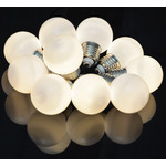 10 Bauble Indoor Festoon Warm White by lyyt, Part Number 155.683UK