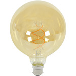 G125 Spiral LED Filament Bulb B22 5W by lyyt, Part Number 157.914UK