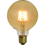 G95 LED Filament Bulb E27 4W Dimmable by lyyt, Part Number 157.984UK