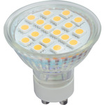 GU10 18 LED lamp - warm white (3000K) by lyyt, Part Number 159.002UK