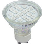 GU10 18 LED lamp - red by lyyt, Part Number 159.003UK