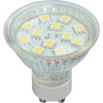 GU10 12 LED lamp - cool white (6000K) by lyyt, Part Number 159.011UK