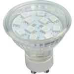 GU10 12 LED lamp - blue by lyyt, Part Number 159.015UK