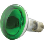 Reflector Lamp, R80, E27, Green by QTX, Part Number 160.004UK