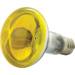 Reflector Lamp, R80, E27, Yellow by QTX, Part Number 160.006UK