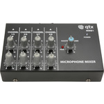 8 Channel Mini Microphone Mixer by QTX, Part Number 170.203UK