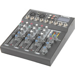 CM4-LIVE compact mixer with delay + USB/SD player by Citronic, Part Number 170.800UK