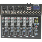 CM6-LIVE compact mixer with delay + USB/SD player by Citronic, Part Number 170.801UK