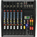 CSL-8 Mixing Console 8 input by Citronic, Part Number 170.851UK