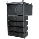 CLA-300 Line Array Speaker System, 300W + 300W, Black by Citronic, Part Number 171.227UK