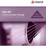 Normal Tension Classic Guitar Strings (28-43) by Chord, Part Number 173.166UK
