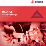 Ukulele string set - black by Chord, Part Number 173.170UK