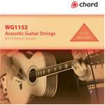 Extra Light Acoustic Guitar Strings (11-52) by Chord, Part Number 173.172UK