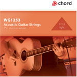 Light Acoustic Guitar Strings (12-53) by Chord, Part Number 173.175UK