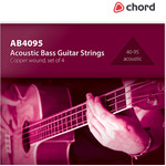 Acoustic bass guitar string set 40-95 by Chord, Part Number 173.189UK