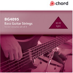Bass Guitar strings, Nickel, Light (40-95 4 Strings) by Chord, Part Number 173.190UK