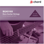 Bass Guitar strings, Nickel, Medium (45-105 4 Strings) by Chord, Part Number 173.193UK
