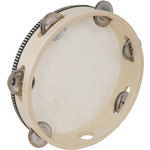 "Headed Tambourine 20cm (8"") by Chord, Part Number 173.723UK"