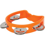 Mini D tambourine - orange by Chord, Part Number 173.772UK