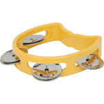 Mini D tambourine - yellow by Chord, Part Number 173.776UK