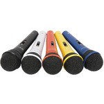 DM5X set of 5 coloured mics by QTX, Part Number 173.854UK