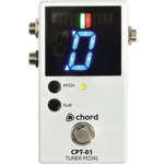 CPT-01 Chromatic Tuner Pedal by Chord, Part Number 174.244UK