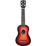 CU21-3TS ukulele - 3 tone sunburst by Chord, Part Number 174.522UK