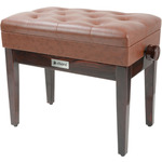 Piano Bench with Storage - brown by Chord, Part Number 180.253UK