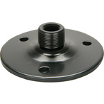 Gooseneck base, Black by QTX, Part Number 188.512UK