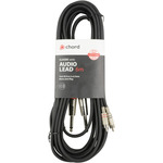 Classic 2RCA-2Jack Mono 6m by Chord, Part Number 190.069UK