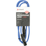 Classic XLR M-F 1.5m Blue by Chord, Part Number 190.092UK