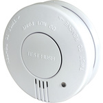 Smoke detector w/hush button by Mercury, Part Number 350.126UK